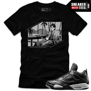 Sneaker-tees-shirts-to-match-Jordan-4-Oreos-streetwear-online-shopping-Karmaloop