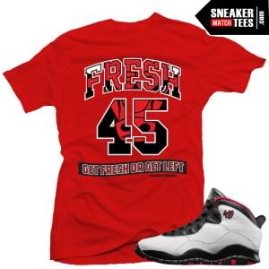 Double Nickel 10s match shirt sneaker tee shirt match Jordan 10 Double Nickel Streetwear Karmaloop online Shopping shirts