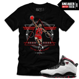 Jordan 10 Double Nickel matching shirt sneaker tees shirts match Double Nickel 10 Jordan Retros