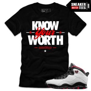 Jordan 10 Double Nickel shirts match Double Nickel 10 sneaker tees