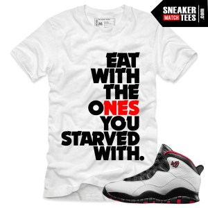 Jordan 10 Double Nickel shirts to match online shopping streetwear