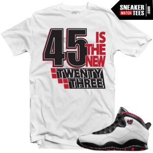 Jordan X shirts matching Double Nickel 10 shirts sneaker tees streetwear karmaloop