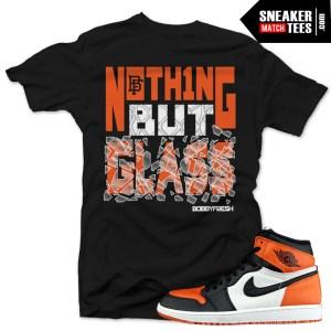 Jordan Shirts match Shattered Backboard 1s