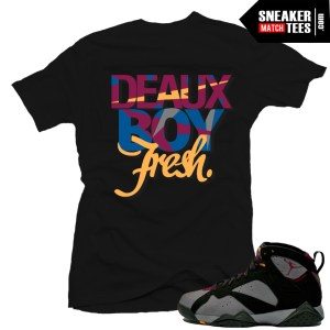 Bordeaux 7s Jordan shirt
