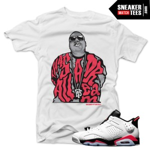 Jordan 6 low infrared shirt
