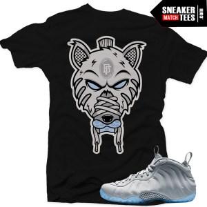 Wolf Grey Foams t shirt