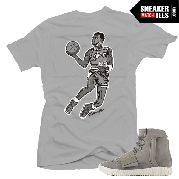 Yeezy boost shirts to match air yeezy grey sneaker tees for Booster t shirt reviews