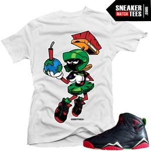 Jordan 7 Retros tshirt marvin the martian 7s sneaker news jordan release dates