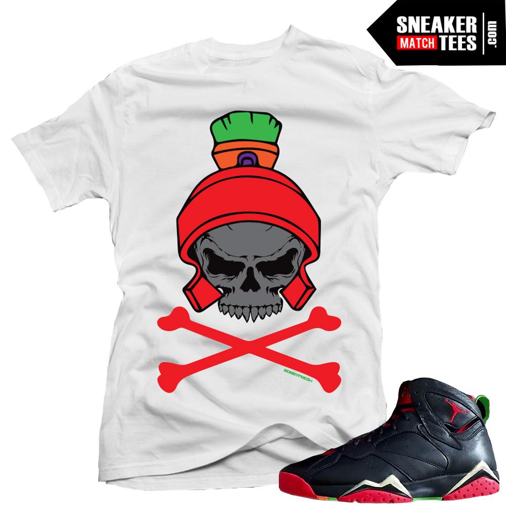 2bca20af873d06 jordan marvin the martian retro 7 sneaker match shirts