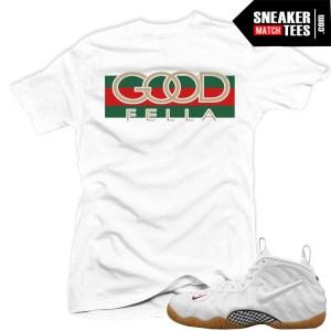 Gucci-Foams-White-shirt-match-sneakers