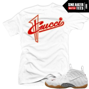 Gucci Foams white match Sneaker Tees shirt