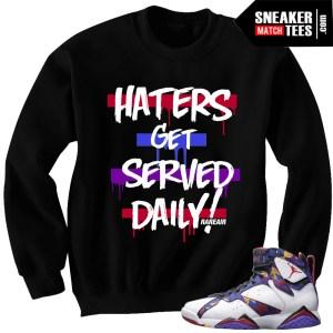 Sweater 7s matching Jordan Sweater