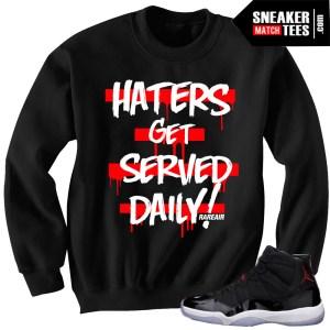 Jordan 11 72-10 sneakers to match sweater crewneck
