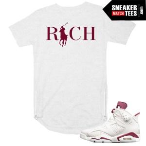 Sneaker tee shirts to match Maroon 6s Scoop tee zipper T shirt Online