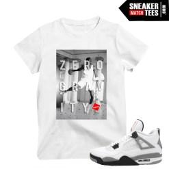 Jordan wearing White Cement 4 OG