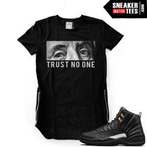 Master Jordan 12s shirts