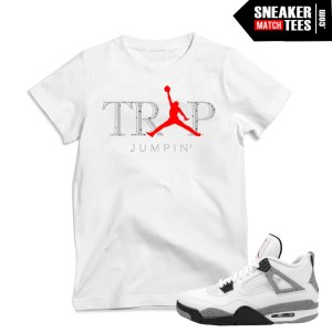 White Cement 4 t shirts match