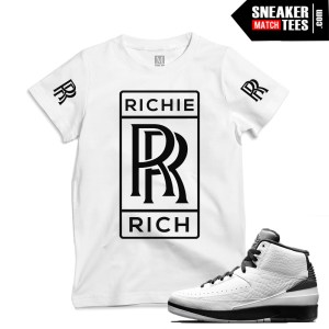 Jordan Retro 2 Wing it matching shirts
