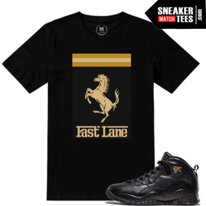 10s jordan NYC match t shirts