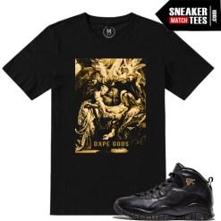 Jordan X NYC t shirt match