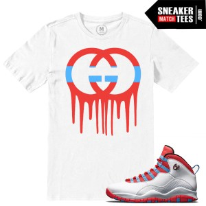 Chicago Flag 10 match sneaker tee shirts