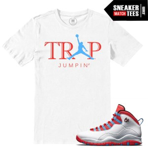 Chicago Flag Jordan 10 match t shirt