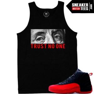 64574a49002f ... tank top t shirt match jordan 12 flu game Sneaker ...
