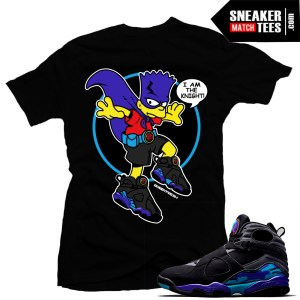 Match Aqua 8 Sneaker tees shirts