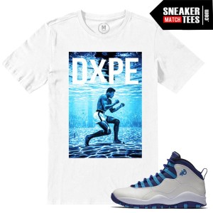 Match Hornets 10 Retro Jordans t shirts