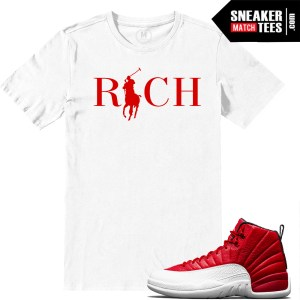 Match Sneaker tees Gym red 12