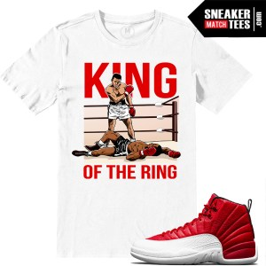 Shirts match Jordan 12 Gym Red