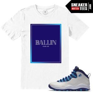 Sneaker tees Match Hornets 10 Jordans