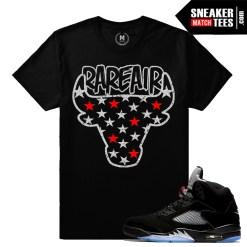 Jordan 5 Metallic t shirts match