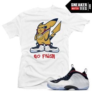 Pokemon go T shirt match olympic foams