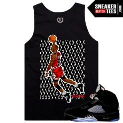 Sneaker Match Tees Metallic Black 5 OG