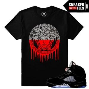 Sneaker tees Black Metallic 5 OG