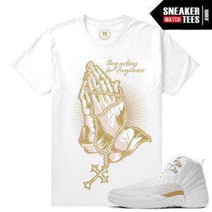 Sneaker tees match OVO 12 Jordan Retro