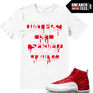 T shirts Gym Red 12s
