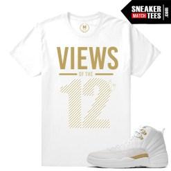 T shirts match OVO 12 Jordans