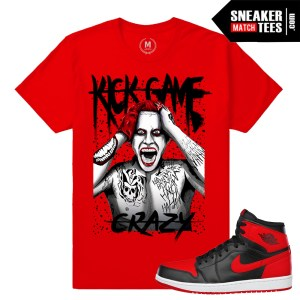 Banned 1 Jordan Retros Tshirt match