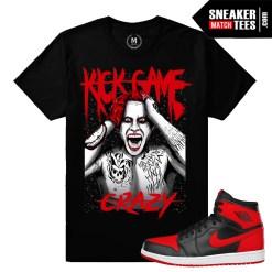Banned 1 Jordan Retros match Sneaker tees