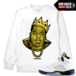 Crewneck Match Jordan 5 Olympic