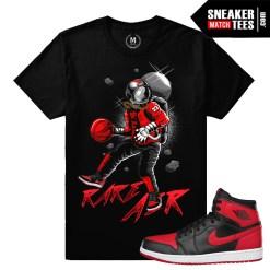 Jordan 1 Banned Match T shirts