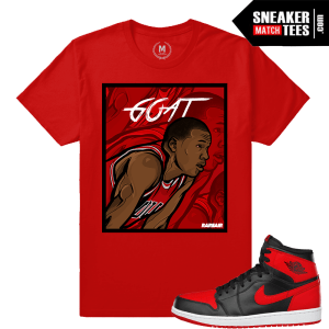 Jordan 1 Shirts match sneakers