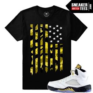 Jordan 5 Olympic Matching shirt