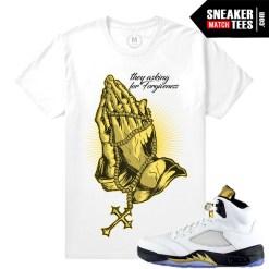 Jordan 5 t shirts Olympic 5 tees