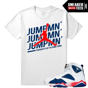Jordan Retros 7 Alternate Match T shirt
