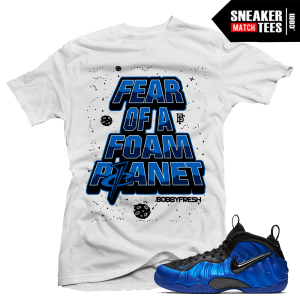 Shirt match Cobalt Foams