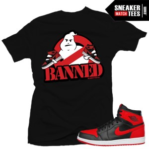 Shirt matching Banned 1 Jordans