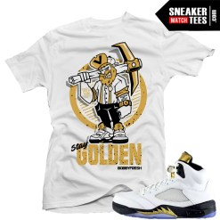 Shirts Jordan 5 Olympic Match
